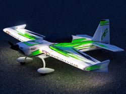 Premier Aircraft QQ Extra 300 V2 1.22m Super PNP Grün/Schwarz mit Aura 8
