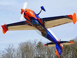 "EXTREMEFLIGHT-RC EXTRA 300 78"" V3 ORANGE / BLAU ARF"