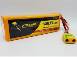 RB Voltage 4200mAh 6S 50C XH/XT90 LiPo-Akku