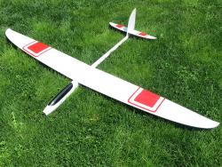 PnP RCRCM E-Hornet Spw. 2,0m Doppel-CFK Weiss/Rot