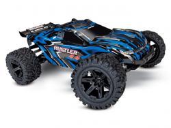 Traxxas Rustler 4X4 RTR Blau 2. Generation 1:10 (mit Akku/DC-Lader)
