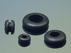 MP-JET Kabeldurchführungen Gummi-Tüllen 3.2mm 4Stk.