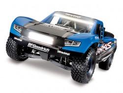 Traxxas Unlimited Desert Racer 4x4 Blau LED VXL 6S Brushless 1:7 4WD ARTR
