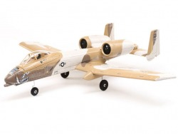 E-Flite UMX A-10 Thunderbolt II 30mm EDF BNF Basic with AS3X and SAFE Select, 56