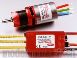 Kontronik DRIVE 610 (KIRA 500-30 6,7:1 / JIVE 80+ LV)