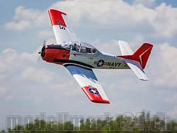 E-Flite Carbon-Z T-28 Trojan Spw. 1'980mm BNF Basic with AS3X