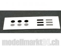 Spektrum RPM Sensor Klebepads für Surface-Telemetrie