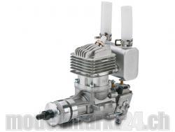 DLE DL-Engines 20RA Benzin Motor mit Heckauslass und el. Zündung
