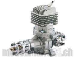 DLE DL-Engines 35RA Benzin Motor mit Heckauslass und el. Zündung
