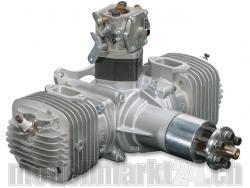 DLE DL-Engines 120 Benzin 2-Zylinder Boxermotor mit el. Zündung