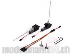 Einziehfahrwerk Elektrisch 2-Bein 0.9-2.0kg 90°/90° von E-Flite