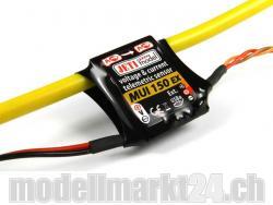 Jeti MUI150EX Spannungs- und Stromsensor 60V/150A für Duplex 2.4GHz System