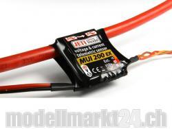 Jeti MUI200EX Spannungs- und Stromsensor 60V/200A für Duplex 2.4GHz System