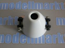 RFM CFK-Spinner D48/d6 mit Kühlloch, int. Mittelteil, handgefertigt
