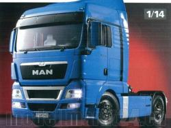 Tamiya MAN TGX 18.540 French Blue Edition 4x2 XLX RC-Truck 1:14 Bausatz