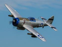 E-Flite P-47D Razorback 1.2m BNF Basic mit AS3X