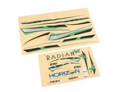 Deckorbogen Radian XL von E-Flite