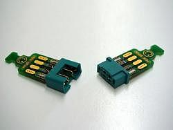 Emcotec MPX-Platine 6 Pins mit Verbinder verlötet - Stecker ...