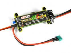 JETI MaxBec2D Plus EX 5-6V/20A mit Magnetschalter, geeignet für RC-Switch