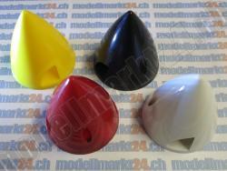 Spinner D57, Kunststoff, Gelb