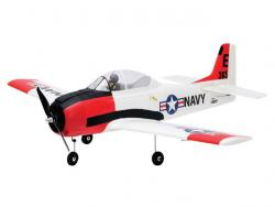 Parkzone T-28 Trojan 1118mm BNF mit AS3X und Safe-Technologie, RC-Modellflugzeug