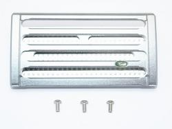 ALUMINUM FRONT GRILL (THICKENED VERSION) Silbergrau/Silbergrau for Traxxas TRX-4