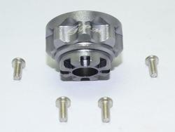 ALUMINUM FRONT/REAR DIFFERENTIAL CARRIER Silbergrau for Traxxas TRX-4 DEFENDER,