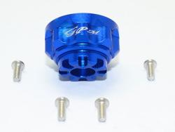 ALUMINUM FRONT/REAR DIFFERENTIAL CARRIER Blau for Traxxas TRX-4 DEFENDER, von GP