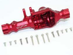 ALUMINUM REAR GEAR BOX (WITHOUT COVER) Red 1/10 Traxxas TRX-4 DEFENDER, von GPM-