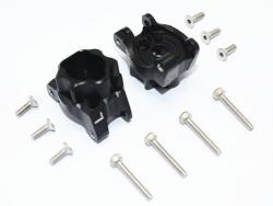 ALUMINUM REAR GEAR BOX MOUNTS Black 1/10 Traxxas TRX-4 DEFENDER, von GPM-Racing