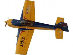 GB-Models MX2 1.32m Gelb/Blau ARF, design Gernot Bruckmann