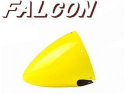 "Falcon Carbon / Alu Spinner 4.5"" für 2 Blatt Gelb"