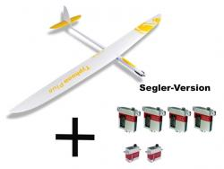 Set RCRCM Typhoon Plus GFK+ W/G inkl. Servos
