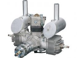 DLE DL-Engines 40ccm DLE40 Benzinmotor 2-Zylinder Boxer mit el. Zündung