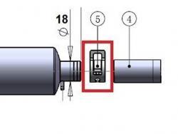 Klammer 16mm zu Kanisteranlage DLE20RA