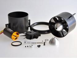 Wemotec Mini Fan evo Impeller/HET 2W16, komplett montiert, feingewuchtet, harm.