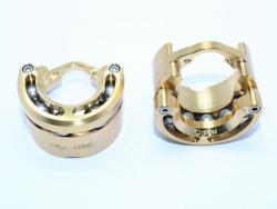 "BRASS OUTER PORTAL DRIVE HOUSING (FRONT OR REAR)""HEAVY EDITION""-36PC SET"