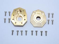 "BRASS OUTER PORTAL DRIVE HOUSING (FRONT OR REAR)""HEAVY EDITION""-18PC SET"