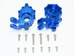 ALUMINUM FRONT KNUCKLE ARMS-14PC SET Blau