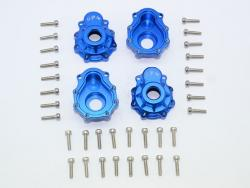 ALUMINUM OUTER PORTAL DRIVE HOUSING Blau (FRONT OR REAR)-36PC SET
