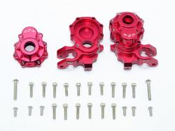 ALUMINUM FRONT KNUCKLE ARMS Rot - 28PC SET