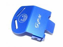 ALUMINUM F/R GEAR BOX BOTTOM PROTECTOR MOUNT FOR TRX4 Blau -1PC